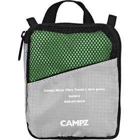 CAMPZ Micro Fibre Ręcznik L zielony